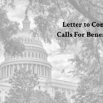 Letter to Congress Calls for Extensive Cuts to Federal Retirement Benefits