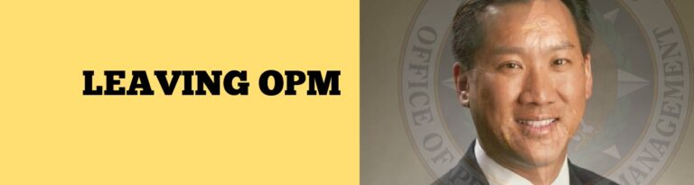 Dr. Pon Leaves OPM,  Margaret Weichert Assumes Role as Acting Director