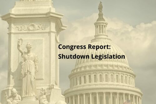 Shutdown Spurts Out Legislation from Congress and Lawsuits from Unions
