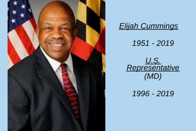 Elijah Cummings, Remembered