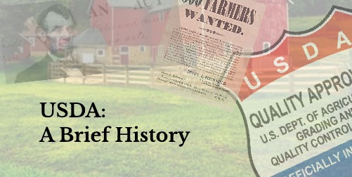 "feD-you-""Dairy"": USDA: A Brief History"