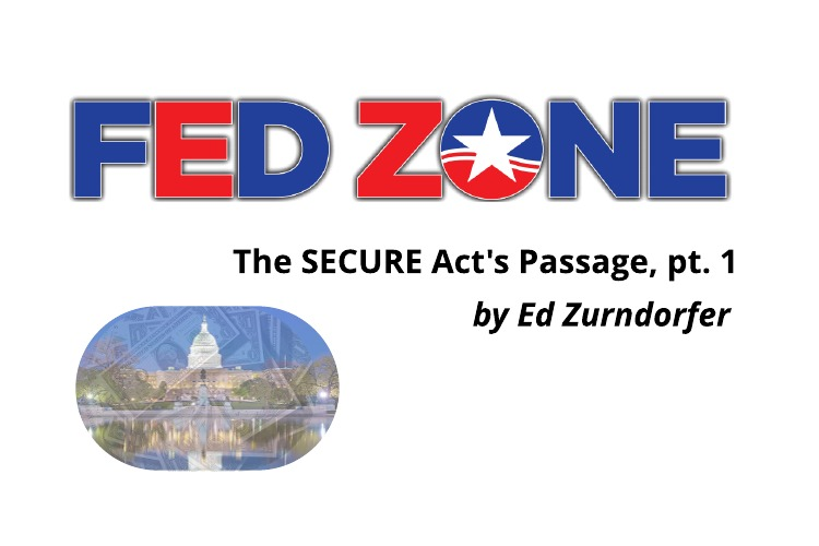 SECURE Act Passage: Part I