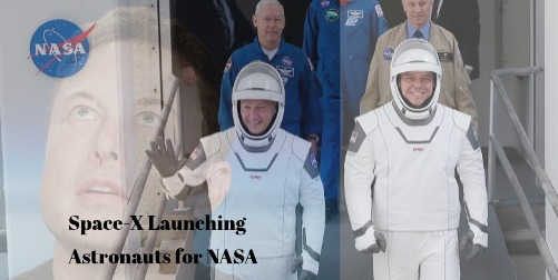 Space-X to Launch Astronauts for NASA