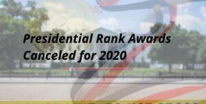 2020 Presidential Rank Awards