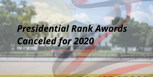 Presidential Rank Awards Canceled for First Time Since 2013