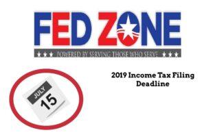 2019 Income Tax FIling Deadline